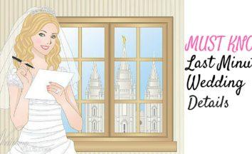 Last Minute Wedding Details Image