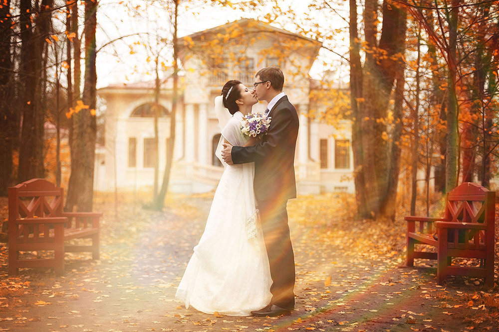 autumn wedding image